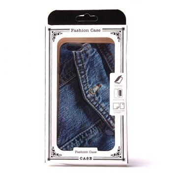 TPU Soft case pocket jeans iPhone 6 Plus