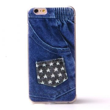TPU Soft case American jeans iPhone 6 Plus