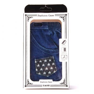 Coque souple TPU Poche American Jeans iPhone 6 Plus