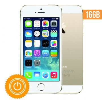 iPhone 5S - 16 GB Gold refurbished - Grade A