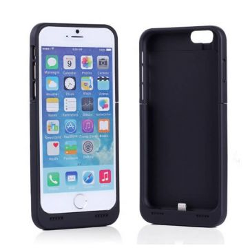 Case with integrated battery and external charger for iPhone 8 / iPhone 7 / iPhone 6/6S