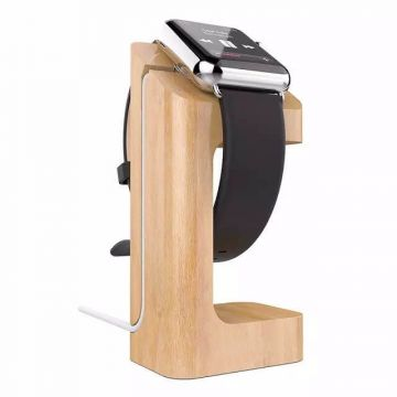 Houten docking station Apple Watch 38mm & 42mm