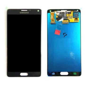 Original quality complete screen for Samsung Note 4 Black