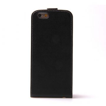 iPhone 6 Plus flip case leder - iPhone 6 Plus hoesje