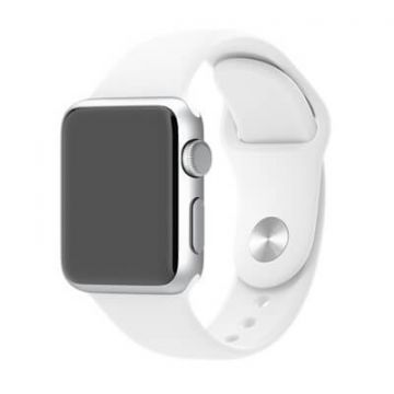 White Apple Watch 0,38mm Strap