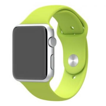Groen bandje Apple Watch 42mm siliconen