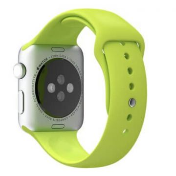 Groen bandje Apple Watch 38mm siliconen