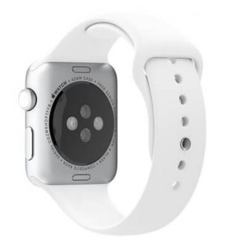 Bracelet Apple Watch 44mm & 42mm Blanc  S/M et M/L