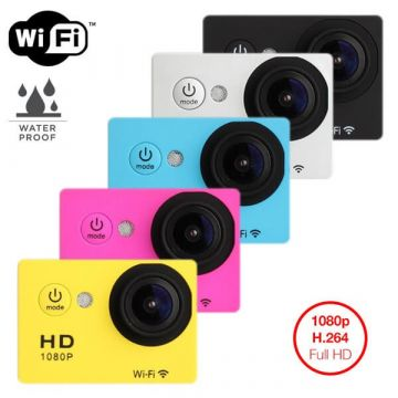 Waterproof Full HD 1080p wifi camera