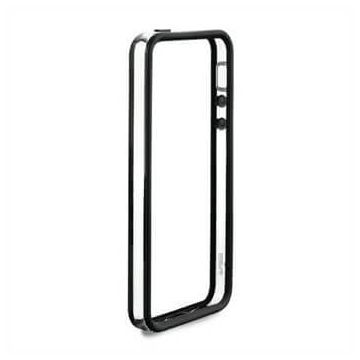 Bumper - Contour TPU Noir et transparent iPhone 5C