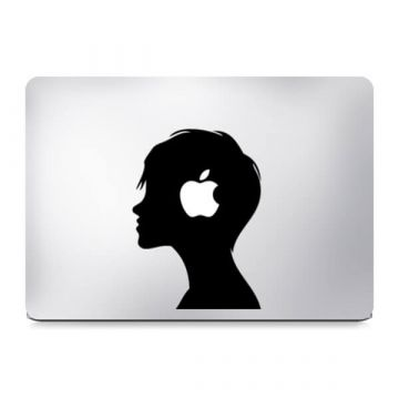 Snow White Witch MacBook Sticker Colour