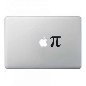Sticker MacBook Apple Pi