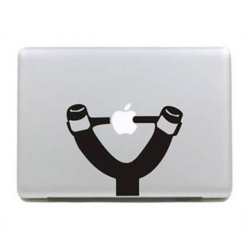 Sticker MacBook Lance-pierre