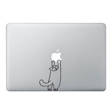 Sticker MacBook Simon's Cat