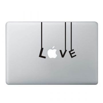 Sticker MacBook Guirlande Love