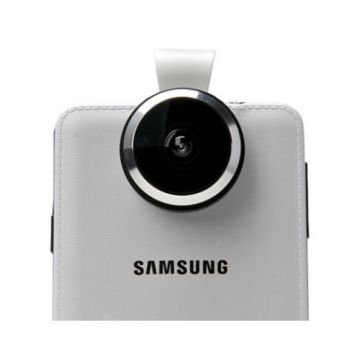 Universele 235° fish eye lens voor iPhone Samsung iPad iPod