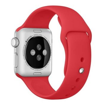 Red Apple Watch 42mm Strap S/M M/L