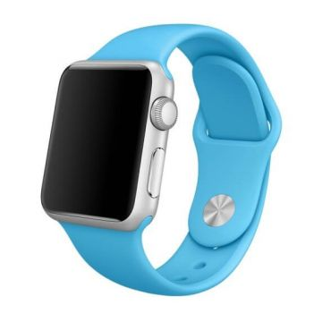 Blauw siliconen bandje Apple Watch 38mm S/M M/L