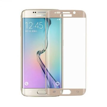 Tempered glass 0,2mm screen protector for Samsung S6 Edge - Premium Quality