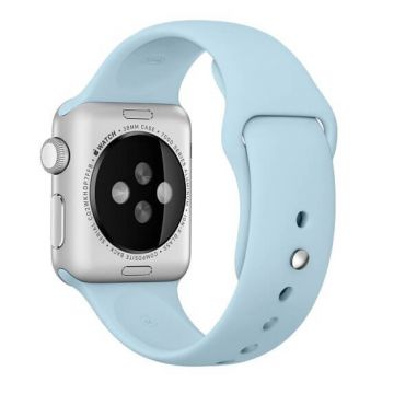 Turquoise siliconen bandje Apple Watch 38mm S/M M/L