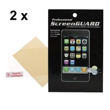 Set von 2 Displayschutzfolie Glanzend iPhone 3G 3GS