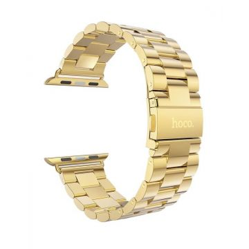 Hoco Gold Stainless Steel Apple Watch 42mm bracelet