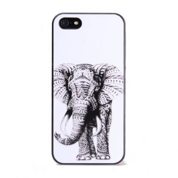 Hardcase Black Elephant for iPhone 5 5S