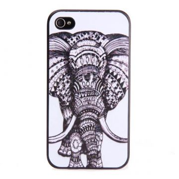 Black Elephant Hardcase for iPhone 4 4S