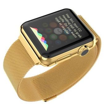 Milanese Hoco Apple Watch 38mm gold Bracelet
