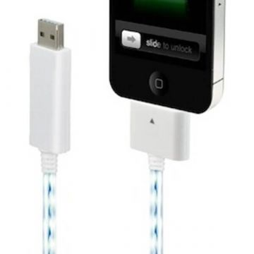 USB Kabel wit voor IPhone IPad en IPod