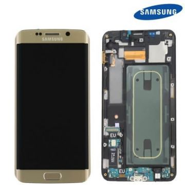 Ecran complet pour Samsung Galaxy S6 Edge Plus Or original