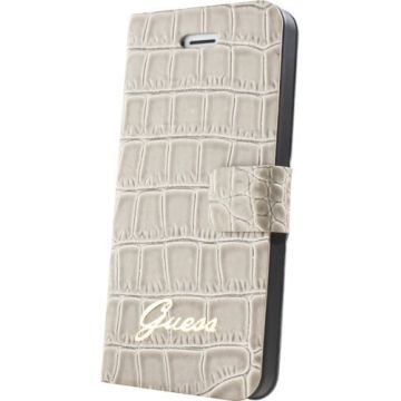 Etui Guess Croco Beige iPhone 6/6S
