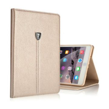 Leather look iPad Mini 4 XUNDD portfolio stand case