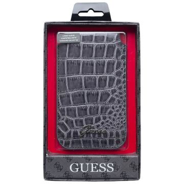 Housse Guess Croco Gris Universelle