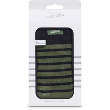 Jean-Paul Gaultier Khaki Sailor Stripes Universal Case