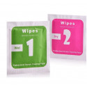 Pack of 10 wipes soaked 2 in 1