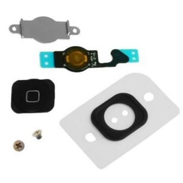 Kit Bouton Home iPhone 5 Noir