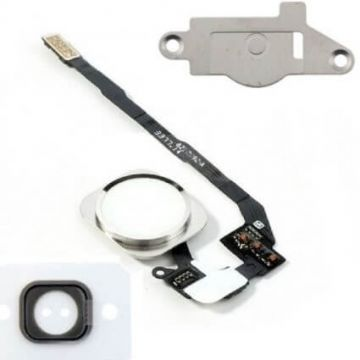 White Home Button Kit iPhone 5S/SE
