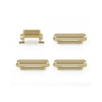 Set de 4 boutons (Power, Volume +, Volume -, Vibreur) Gold pour iPhone 6 Plus