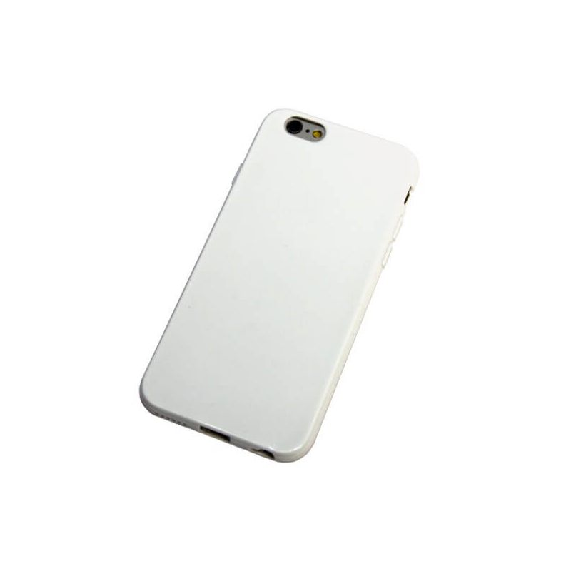 White Silicone Case for iPhone 6/6S