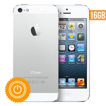 iPhone 5 - 16 Go Blanc reconditionné - Grade B