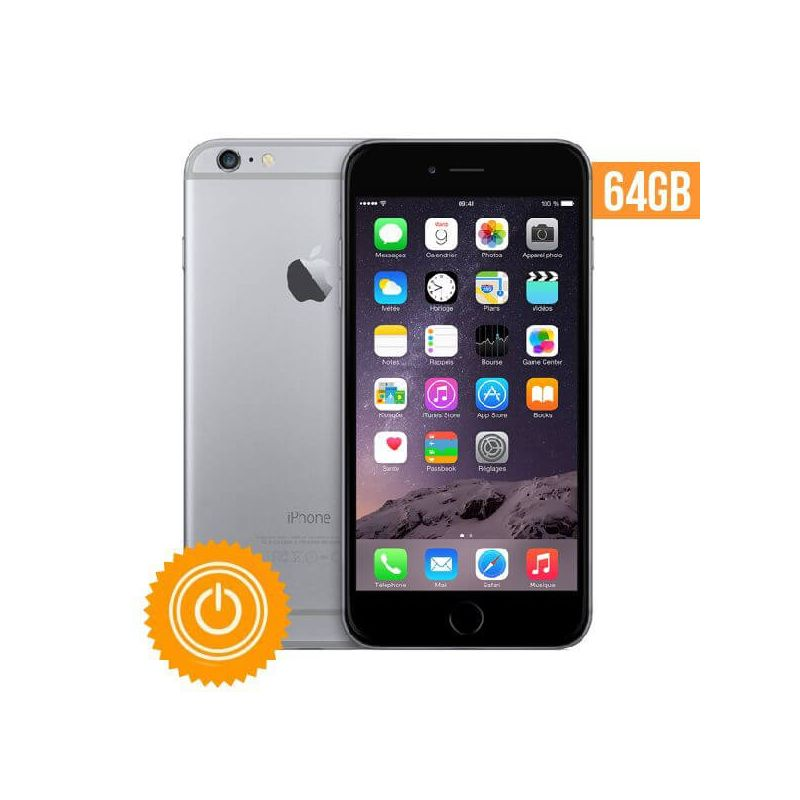 iphone 6 64 go gris sid ral reconditionn grade b macmaniack. Black Bedroom Furniture Sets. Home Design Ideas