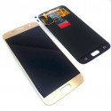 Original quality complete screen for Samsung Galaxy S7 in gold
