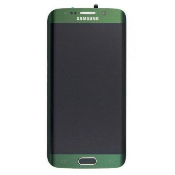 Original quality complete screen for Samsung Galaxy S6 Edge in green
