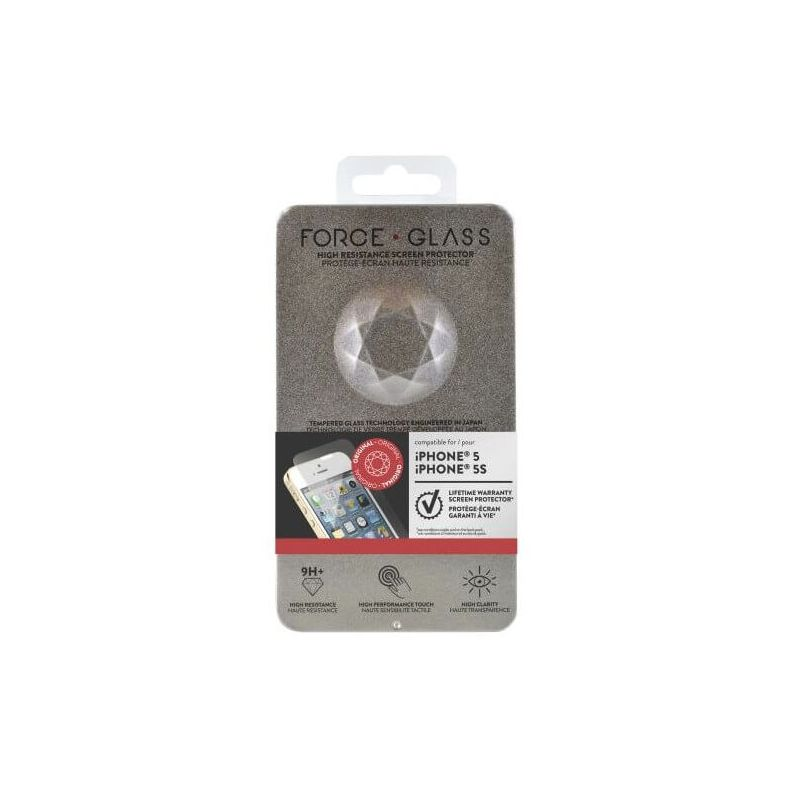 Force Glass Lifetime Warranty Screen Protector iPhone 5/5S/SE