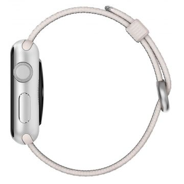 Pearl Woven Nylon Band Apple Watch 38mm