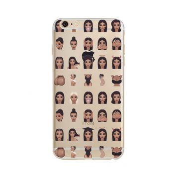 Kim Kardashian Emojis Model 3 iPhone 5/5S/SE Case