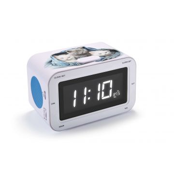 Bigben Cats Alarm Clock