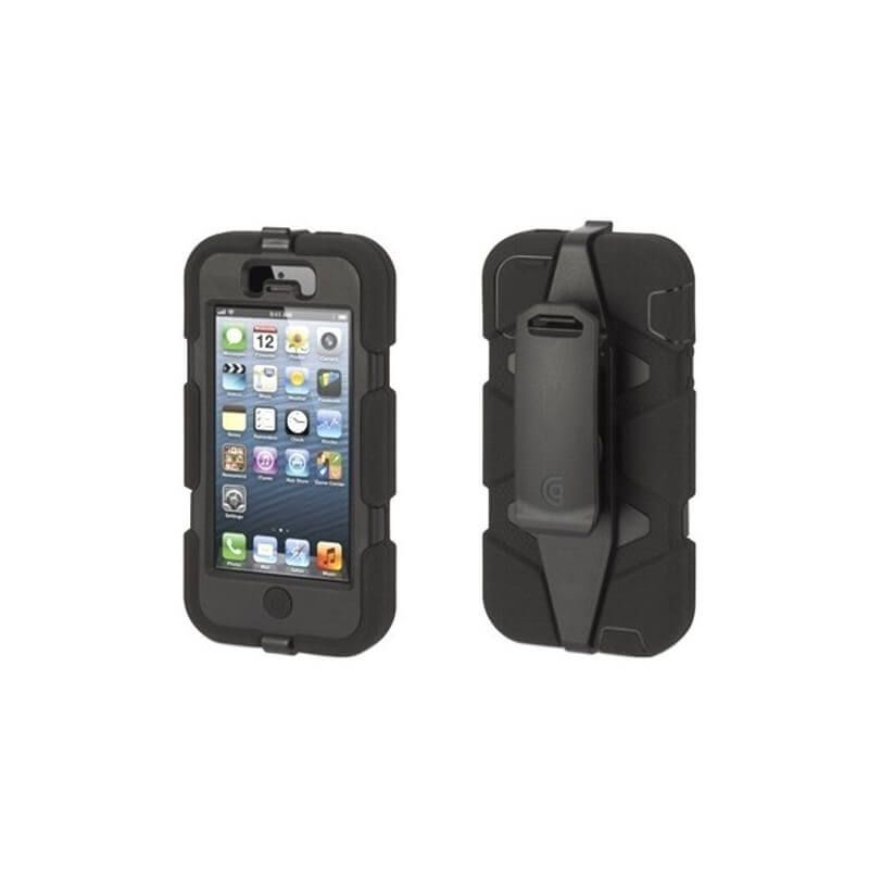 Indestructible Survivor Case Black for iPhone 4 4S