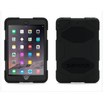 Indestructible Survivor Case Black for iPad Air